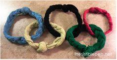 DIY Olympic Rings Dog Toy