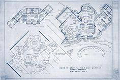 Floor Plan of Bruce Wayne's Home