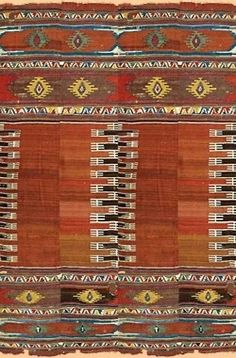 Weaving, Kilim. I want my whole home to look like this rug. :)