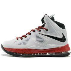 www.asneakers4u.com Nike Lebron 10 X  Miami White/Red/Black