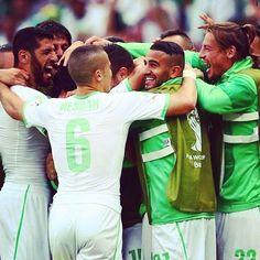 MONDIALI : L'Algeria batte 4-2 la Corea del Sud , reti di #Djabou , #Halliche , #Slimani , #Brahimi , #Min e #Jacheol / #Algery beats #SouthKorea 4-2