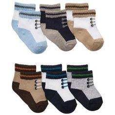 6-Pack Sneaker Socks