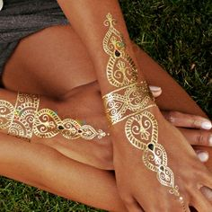 gold tattoo - Google Search
