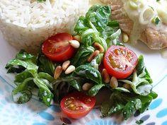 Caprese Salad, Brunch, Rice, Gluten Free, Healthy Recipes, Healthy Food, Meat, Chicken, Dressings