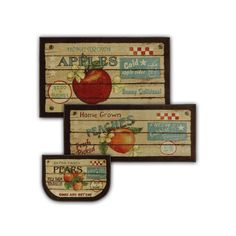 Mohawk® Home Fruit Crate Kitchen Rug, Multicolor, Durable