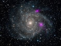 NASA's NuSTAR Catches Black Holes in Galaxy Web