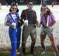 Easy No-Sew DIY Nerds Group Costume... Coolest Halloween Costume Contest