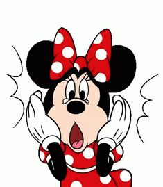 Minnie Mouse Pop-Up Stickers by The Walt Disney Company (Japan) Ltd. Mickey Mouse Y Amigos, Minnie Y Mickey Mouse, Minnie Mouse Costume, Mickey Mouse And Friends, Animiertes Gif, Animated Gif, Disney Cartoons, Bon Week End Image, Gif Lindos