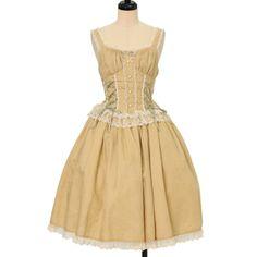 ♡ Innocent World ♡ Amalia jumper skirt http://www.wunderwelt.jp/products/detail13185.html ☆ · .. · ° ☆ How to order ☆ · .. · ° ☆ http://www.wunderwelt.jp/user_data/shoppingguide-eng ☆ · .. · ☆ Japanese Vintage Lolita clothing shop Wunderwelt ☆ · .. · ☆