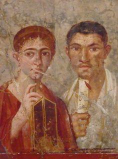 Fresco, Pompeii (Illustration) -- Ancient History Encyclopedia