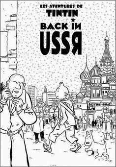 Les Aventures de Tintin - Album Imaginaire - Back in the USSR