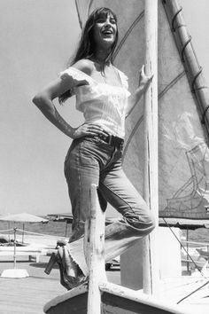 7 Vintage Icons to Give You Summer Style Inspiration - Jane Birkin from InStyle.com