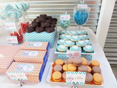 Giggle And Hoot Guest Dessert Feature Owl Parties, Owl Birthday Parties, Birthday Ideas, Owl First Birthday, Dessert Table Birthday, 1st Birthdays, Desserts, Exciting News, Amy