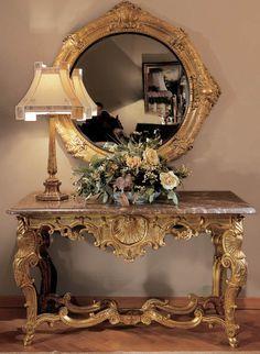 The classic Italian furniture from Provasi – decor store 2018 Italian Furniture, Luxury Furniture, Furniture Design, Home Interior, Interior Decorating, Beautiful Mirrors, Custom Made Furniture, Elegant Homes, Home Accents
