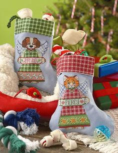 Christmas Stockings Cross Stitch Patterns cross stitch stockings for your pets