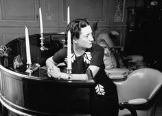 The demi-lune desk of the Duchess of Windsor.
