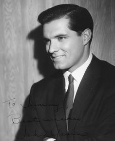 Possibly the most handsome man ever... John Gavin