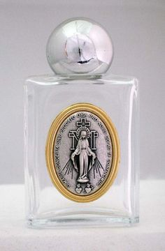 Our Lady Of The Miraculous Medals Holy Water Bottle From Italy