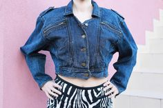 Check out this item in my Etsy shop https://www.etsy.com/listing/501182700/vintage-woman-short-crop-denim-jeans