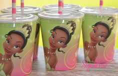 - Party City has these cups minus lids 8 cups for $1.84 - Etsy offers these cups but with lids & paper straws 8 cups for $10.40 + $4.75 shipping.