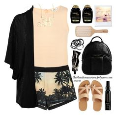 """07.07.15 / 2 "" by theblondemacaroon ❤ liked on Polyvore featuring Miss Selfridge, Alexander Wang, KYMA, Oasis, Organix, Philip Kingsley, H&M, Aesop and Jennifer Zeuner"