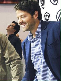 GOOD MORNING MY FRIENDS THE HILLS ARE ALIVE WITH THE SOUND OF MISHA COLLINS