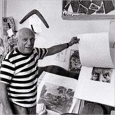 Pablo Picasso, Villa Californie, France, 1957