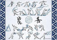 water bending scrolls