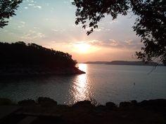 Solitude at Sunrise....(oologah lake, oklahoma) I spent my childhood & youth summers on this lake!!!