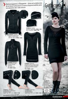 Gothicana Exclusive Gothic Fashion by EMP http://emp.me/6mn