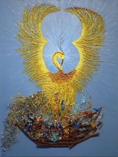 artist Barbara J. Taylor's rendition of the Phoenix, from the gallery page