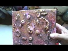 Carla van den Berg, how-to 13 -mixed media technique - YouTube