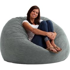 Comfort Research Fuf Bean Bag Chair Upholstery: Comfort Suede Sand Dune