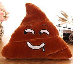 Poop Poo Family Emoji Emoticon Pillow Stuffed Sofa Plush Toy School Soft Cushion