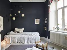 A Charming Dark Kids Room - Petit & Small