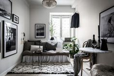 60 cool studio apartment with scandinavian style ideas on a budget (48)