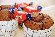 Dumle muffins med blød karamel og chokolade via Blueberry Scones, Vegan Blueberry, Canned Blueberries, Vegan Scones, Caesar Pasta Salads, Gluten Free Flour Mix, Scones Ingredients, Vegan Butter, Muffin Recipes