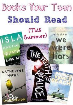 YA summer books