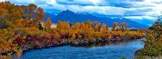 Yellowstone River - Paradise Valley - Livingston, Montana