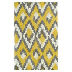 Found it at AllModern - Global Inspirations Yellow Rug http://www.allmodern.com/deals-and-design-ideas/p/The-Scandinavian-Rug-Shop-Global-Inspirations-Yellow-Rug~KR2970~E16316.html?refid=SBP.rBAZEVSGUwtDeTtSC-NSAhNIqFi94U_9ou6P6A1R3Y8