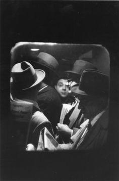 'Odd Man in Penn Station' [1958 Louis Stettner].