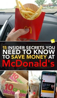 15 Insider Secrets You Need to Know to Save Money at McDonald's