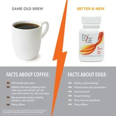 Coffee vs Plexus Edge- mommies need a boost! Super excited for this. All natural energy. No crash. No tolerance build-up.