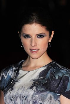"""Actress Anna Kendrick attends the """"50/50"""" premiere during the 55th BFI London Film Festival at Vue Leicester Square on October 13, 2011 in London, England."""