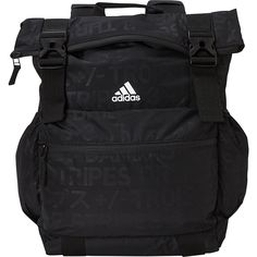 3ba0afd6257e8 adidas Yola Backpack - Black Emboss Black White Yoga Bag NEW  38.24 End Date