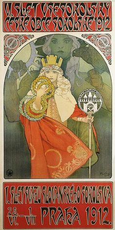 Alfons Mucha, 1912