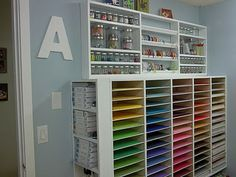 My future scrapbook room...a girl can always dream!