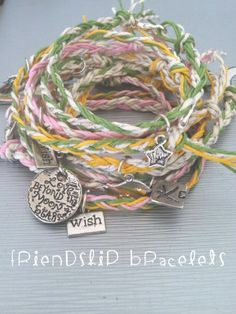 # #charm #Friendship #bracelets