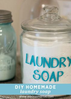 If you like saving a buck, you must try out this easy Homemade Laundry Soap! It's perfect for keeping around the home to get your clothes clean and bright. Click here to learn how to make it!