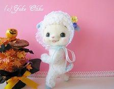 Needle felted lamb ~ so sweet! by Yoko Oko